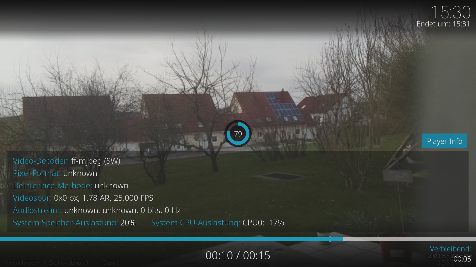 Display slow (1fps) camera stream: Minutes for update, then